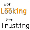 Not Looking, but Trusting